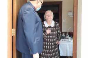 Setne urodziny najstarszej parafianki 15-07-2020