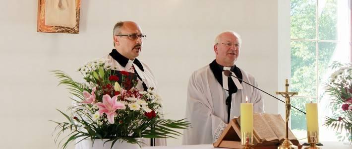 10 lat kościoła w Lesznej – pamiątka poświęcenia kościoła