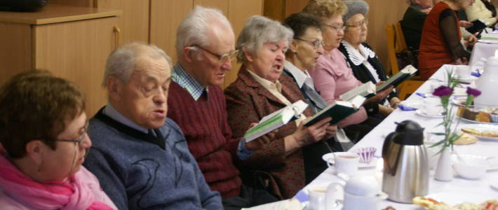 Spotkanie dla starszych i chorych