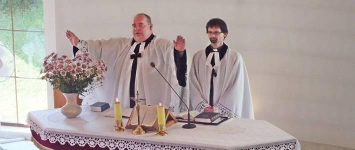 Pamiątka poświęcenia kościoła w Lesznej Górnej