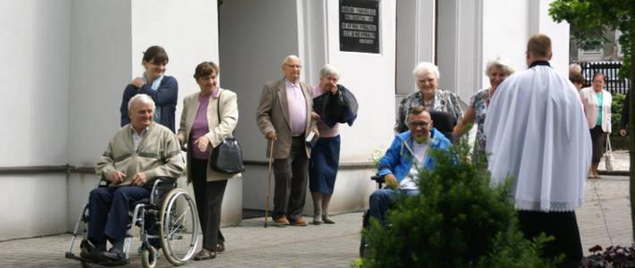 Spotkanie starszych i niepełnosprawnych