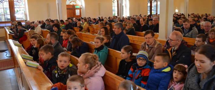Rodzinne nabożeństwo w Niedzielę Wieczności