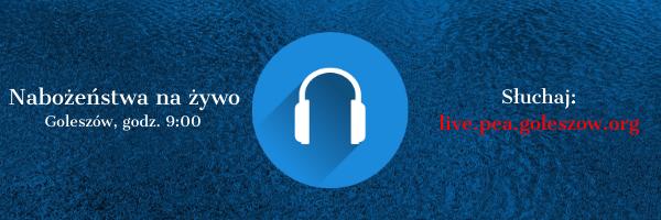 Nabożeństwa na żywo – transmisja audio